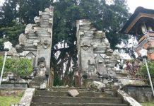 Candi Bentar Pura Kehen Rusak
