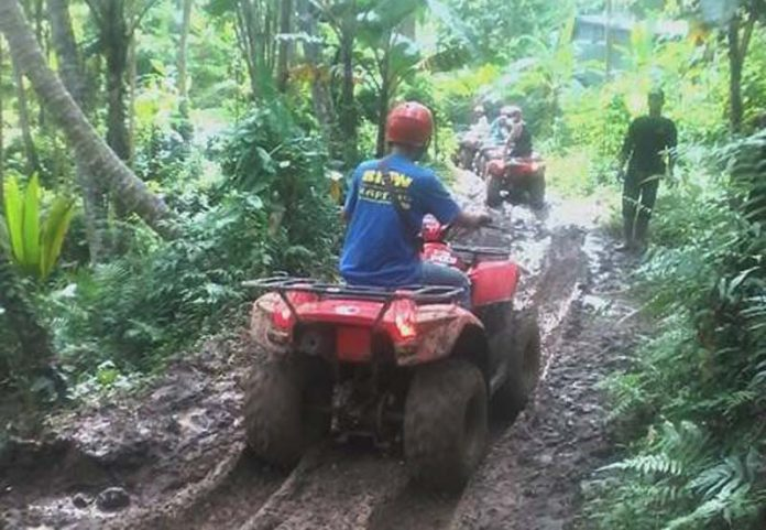 Wisata ATV di Payangan