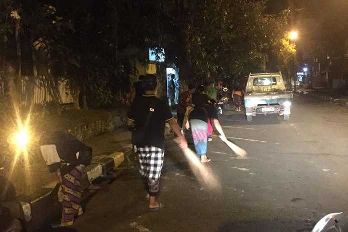 Volume Sampah Nyepi