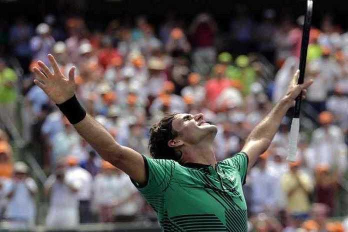 Federer Menang