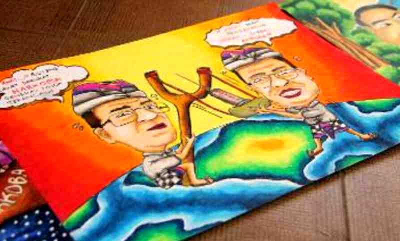 Gambar Siswa Karikatur kelabu kusam hidupku gak kusam  : balipostcompuluhan siswa ikuti lomba gambar karikatur penyalahgunaan narkoba01 from picturerumahminimalis.com size 800 x 482 jpeg 33kB