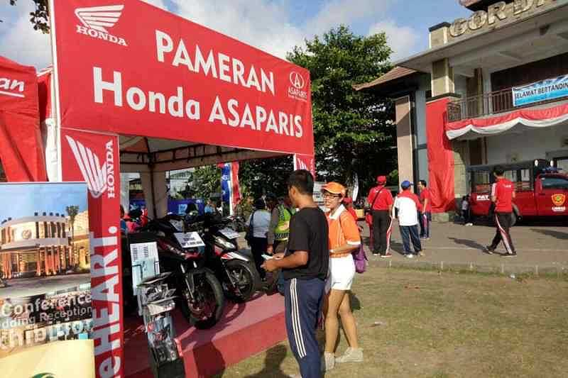 Hut ri desa dalung dan dealer honda asaparis imambonjol for Honda dealerships in ri