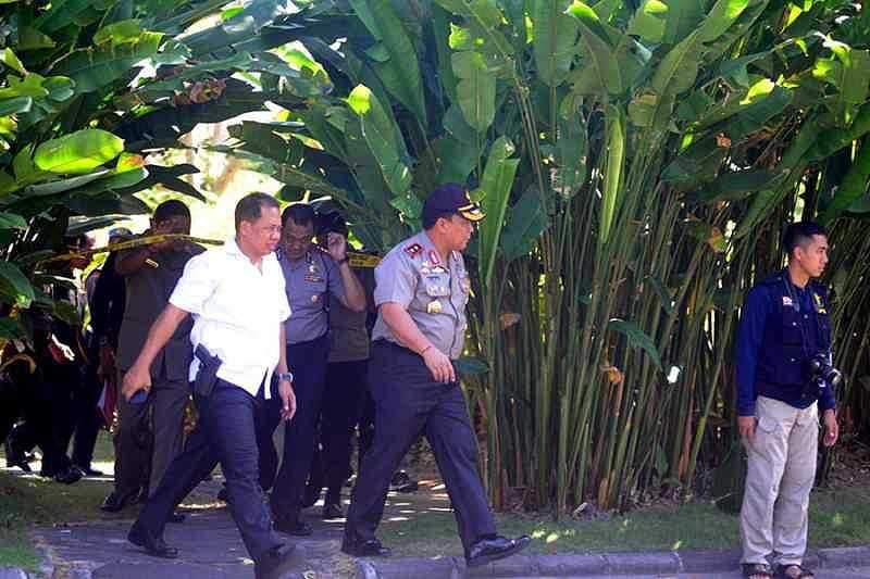 Kapolda Bali Datangi Hotel Ayana, Perketat Pintu Masuk dan ...