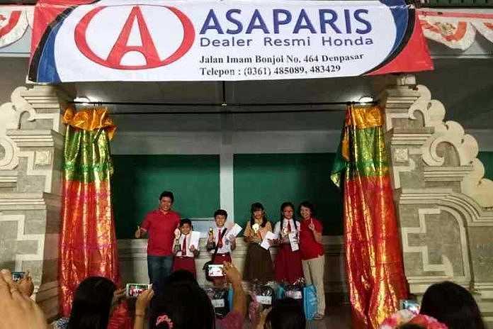 Perayaan Hari Kemerdekaan Dealer Honda Asaparis Gelar Lomba Mewarnai Dan Pidato Bahasa Inggris Balipost Com