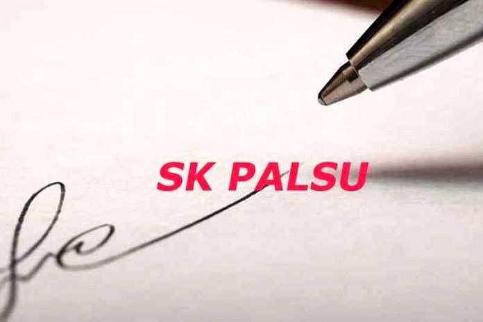SK palsu