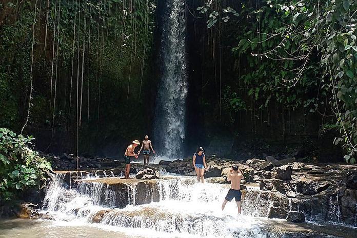 Sumampan Miliki Objek Wisata Air Terjun Balipost Com