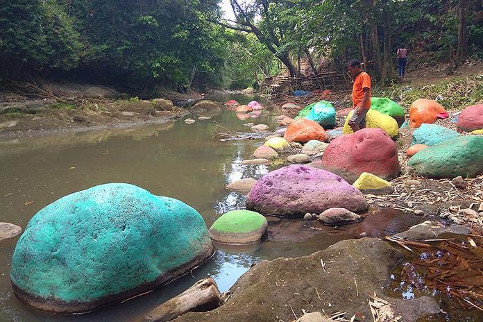 Warga Tanah Pegat Tata Lahan Pribadi Jadi Taman Wisata Desa