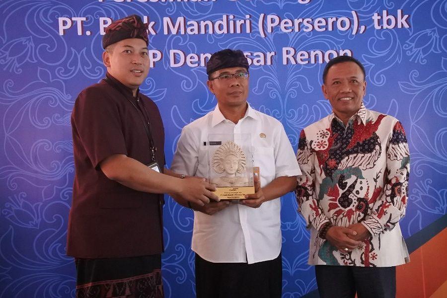 Tingkatkan Layanan Bank Mandiri Resmikan Kcp Renon Balipost Com