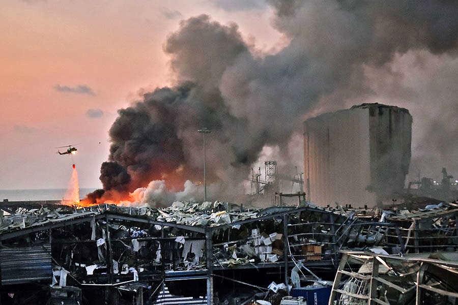 Ledakan di Beirut, KBRI Pastikan WNI Aman   BALIPOST.com