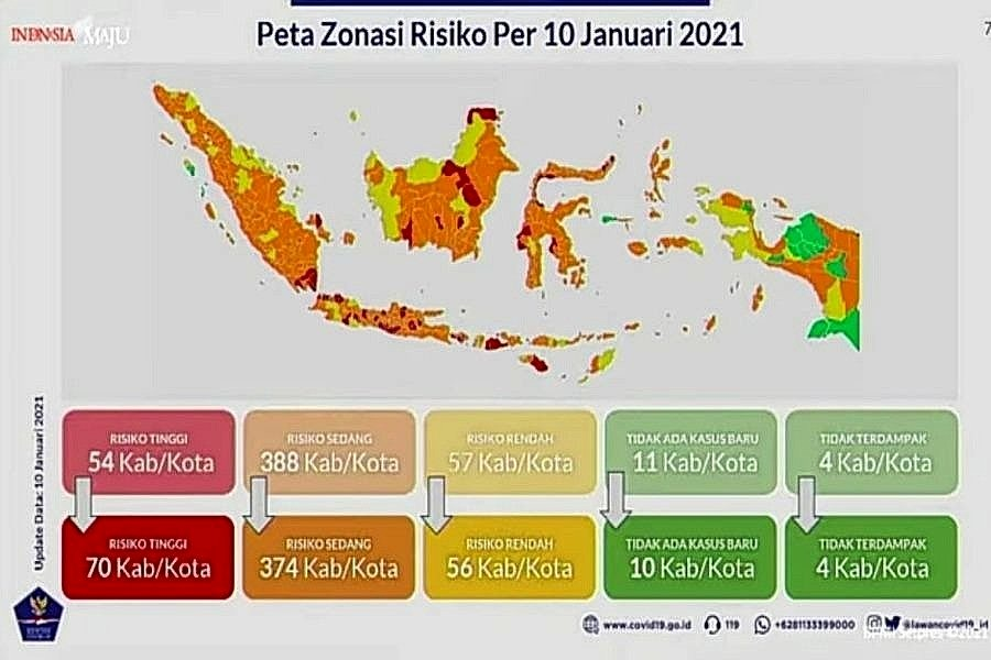 Zona Merah di Bali Kembali Bertambah! Orange Hanya Sisa 3 1