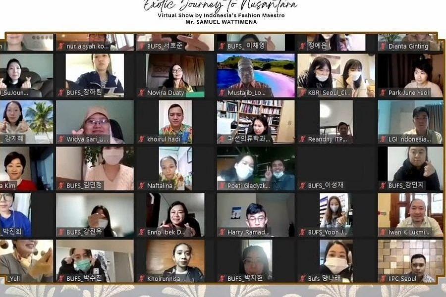 Promosi di Korsel, Eksotisme Wastra Nusantara Ditampilkan Virtual 4